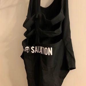 97363ffec88323 Killstar Intimates & Sleepwear - No Turning Back Marilyn Manson Bodysuit  Killstar